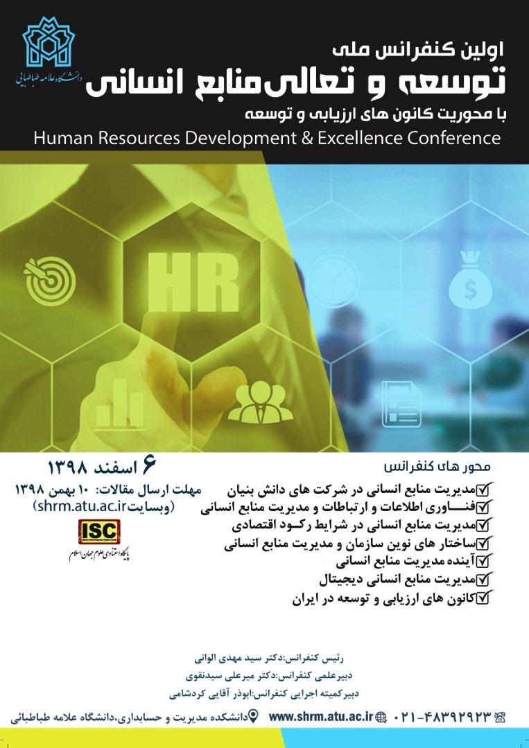 توسعه و تعالی منابع انسانی